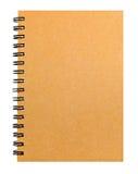 Recicl o livro de nota de papel Imagens de Stock