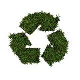 Recicl o logotipo Imagens de Stock