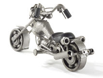 Recicl o motocycle Imagens de Stock Royalty Free