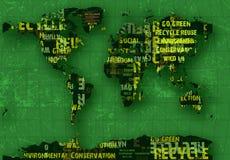 Recicl o planeta Foto de Stock Royalty Free