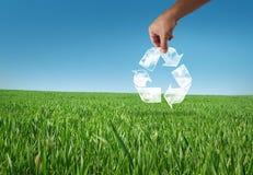 Recicl o planeta Fotos de Stock