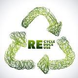 Recicl o projeto Foto de Stock Royalty Free