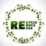 Recicl o projeto Fotografia de Stock Royalty Free