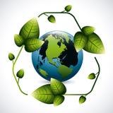 Recicl o projeto Imagens de Stock Royalty Free
