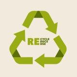 Recicl o projeto Imagem de Stock
