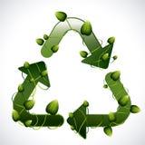 Recicl o projeto Fotografia de Stock