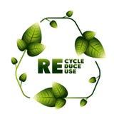 Recicl o projeto Foto de Stock