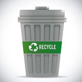 Recicl o projeto Imagens de Stock
