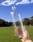Recicl o recicl plástico do frasco   fotografia de stock royalty free