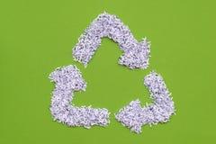 Recicl o símbolo Foto de Stock