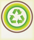 Recicl o símbolo Imagens de Stock Royalty Free
