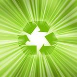 Recicl o símbolo ilustração stock
