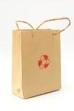 Recicl o saco Foto de Stock Royalty Free