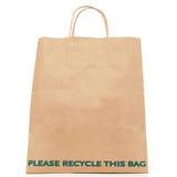Recicl o saco fotografia de stock