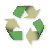 Recicl o sinal Imagens de Stock