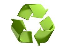 Recicl o símbolo Foto de Stock Royalty Free