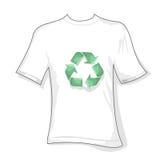 Recicl o t-shirt ilustração do vetor