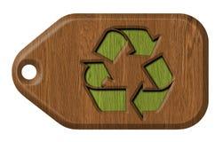 Recicl o Tag Imagem de Stock