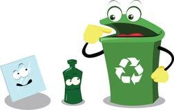 Recicl o vidro ilustração do vetor