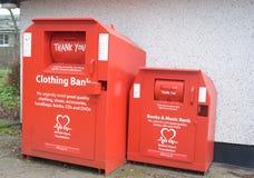 Recicl para a caridade Foto de Stock