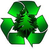 Recicl para o ambiente Imagens de Stock Royalty Free