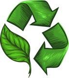 Recicl para o ambiente Imagem de Stock Royalty Free