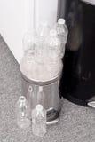 Recicl plástico dos frascos Imagem de Stock Royalty Free