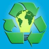Recicl a potência Foto de Stock