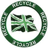 Recicl Reino Unido ilustração royalty free