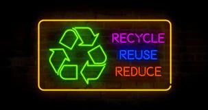 Recicl reusar reduzem-se fotografia de stock