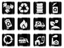Recicl símbolos Fotografia de Stock Royalty Free