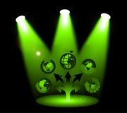 Recicl sinais Imagem de Stock Royalty Free