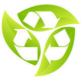 Recicl - sinal Foto de Stock Royalty Free