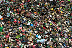 Recicl tampas Fotos de Stock