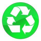 Recicl a tecla Imagens de Stock