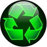 Recicl a tecla do Web ilustração do vetor