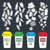 Recicla 6 Foto de archivo libre de regalías