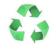 Recicla símbolo Ilustración del Vector