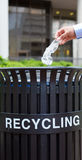 Reciclagem do lixo Imagem de Stock Royalty Free