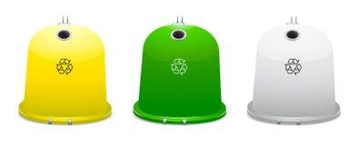 Reciclagem. Segregação. Imagem de Stock