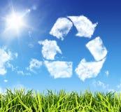 Reciclagem Think Fotos de Stock