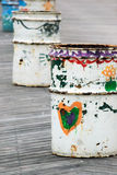 Reciclagens pintados à mão Imagem de Stock