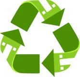 Reciclaje casero Fotos de archivo