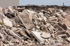 Reciclaje concreto Fotografía de archivo