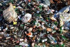 Reciclaje de la basura Imagenes de archivo
