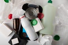 Reciclaje de la basura médica fotos de archivo libres de regalías