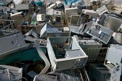 Reciclaje de la CPU Foto de archivo libre de regalías