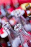 Reciclaje de las botellas Imagen de archivo libre de regalías