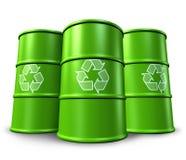Reciclaje de los envases ilustración del vector