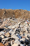 Reciclaje de piedra fotos de archivo